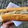 ブリュッセルで食べたホットドッグ、デカ(゚д゚)ウマー