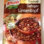 ドイツで買ったスープシリーズ!Linsentopf編