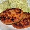 綾町のぶどう豚ハンバーグはジューシーで美味い!