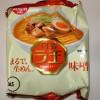 ラ王袋麺のみそ味はやみつきになるぜ・・・。