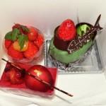 タマの記念日にはケーキでも。
