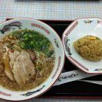 広島の安佐サービスエリアで尾道ラーメンと炒飯を喰らった!
