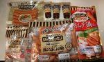 大阪府泉佐野市からシャウエッセンとキムチ鍋のスープセットが届いたのでとりあえず焼いた