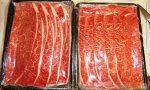 泉佐野市からいただいたお肉ですき焼きだ!